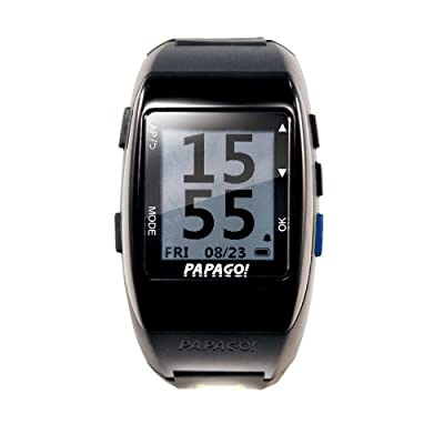 PAPAGO GLWBE-HB-US GoWatch 770 Multi-Sports GPS Watch with GoHeart 100 ANT+ Heart Rate Monitor (Blue)
