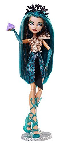 NEW Monster High Fright Mares Doll Boo York, Boo York City Schemes Nefera de Nile Toy for -