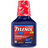 Tylenol Pm Extra Strength Liquid Diphenhydramine HCI/Acetaminophen Sleep Aid/Pain Reliever, 8 Fluid Ounce