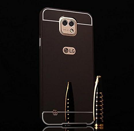PREVOA Metal Bumper Frame Funda Cover Case Protictive para LG X ...