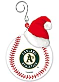 OAKLAND A'S TEAM BALL RESIN ORNAMENT 3""