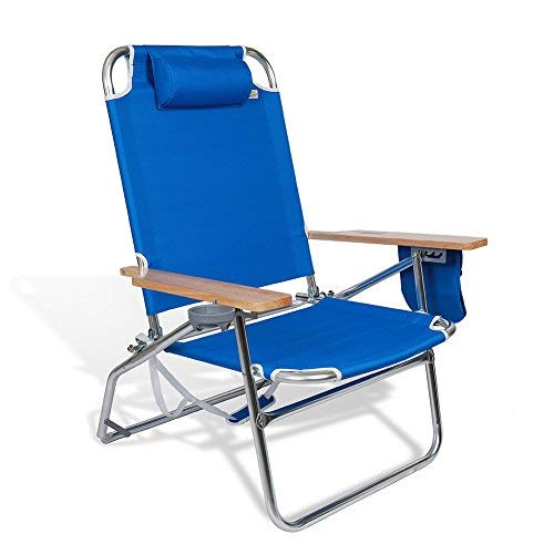 Heavy Duty Folding Chair High Capacity 500lbs for Big and Tall Beach Camping Outdoor Patio Seat with Oversized Storage Pouch and Cup Holder