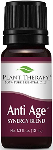 Plant Therapy Anti Age Synergy Essential Oil. 100% Pure, Undiluted, Therapeutic Grade. 10 ml (1/3 - Age Therapy
