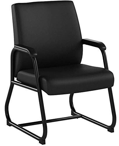 Boss Office Products B709 Heavy Duty Caressoft Guest Chair in Black by Boss Office Products (Image #5)