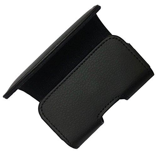 H1-BLACK) Classic Premium Pouch Case with Belt Clip FOR