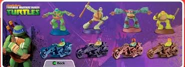 McDonald's Happy Meal Toy - 2012 Teenage Mutant Ninja Turtles - #1 Donatello Figure (Mcdonalds Ninja Turtle Toys)