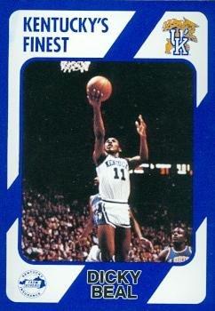 Dicky Beal Basketball Card (Kentucky) 1989 Collegiate Collection #10