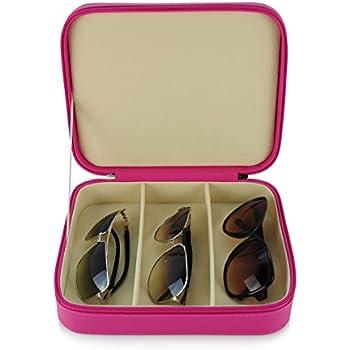 Amazon.com: 3 Piece Extra Large Travel Eyeglass Sunglass