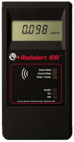 Radiation Detection Meter (International Medcom Radalert 100X Radiation Detection Meter)