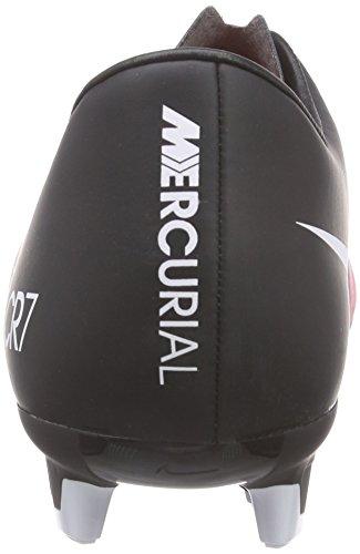 Nike Mercurial Victory V Cr Fg - Botas de fútbol Hombre Negro / Blanco / Naranja (Black / White-Total Crimson)