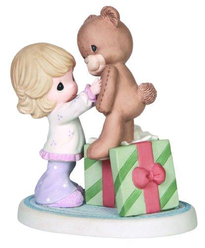 Teddy Collectible Ceramic (Precious Moments Company Girl with Teddy Bear Figurine, 141009)
