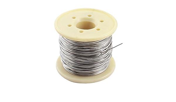 eDealMax a14092500ux0337 15M 0, 8 mm AWG20 Gauge Nichrome Resistencia Resistencia de alambre Para Elementos de calentamiento: Amazon.com: Industrial & ...