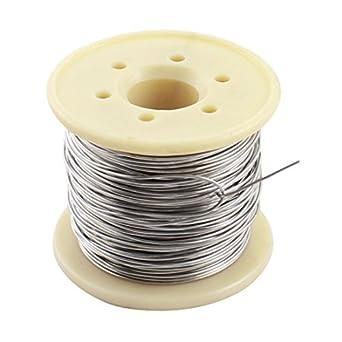 eDealMax a14092500ux0337 15M 0,8 mm AWG20 Gauge Nichrome Resistencia Resistencia de alambre Para Elementos