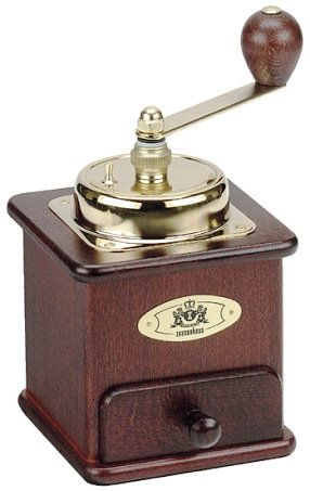 Zassenhaus Mahogany Closed-Hopper Coffee Mill Model 151MA -