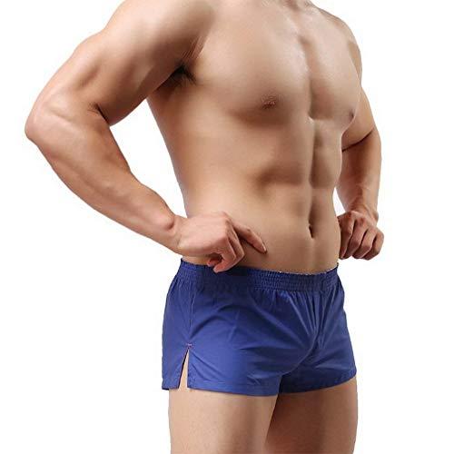 Blau Libero Mode Bolawoo Unita a Shorts Estate Tinta Mutande Spiaggia Uomo Di Marca Tempo Pantaloncini Da Mutandine Boxer aqSqw5