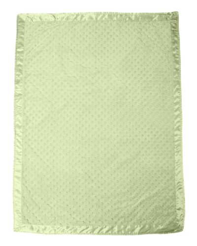 Fleece Satin Baby Blanket (Colorado Clothing Kid's Cuddle Fleece Blanket, Wasabi, One Size)