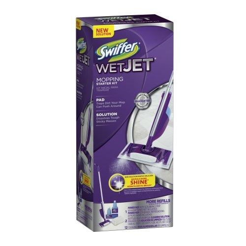 Wet Mop Kit (WetJet Spray Mop Floor Cleaner Club Starter Kit)