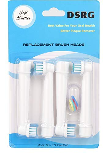 Oral-B Compatible Toothbrush Replacement Heads Braun Professional Care, Professional Care, SmartSeries, TriZone, Advance Power, Pro Health, Triumph, 3D Excel