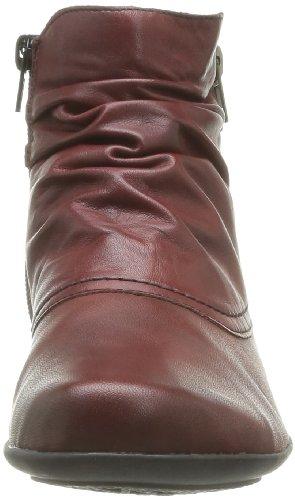Remonte D7382 - Botas de cuero mujer Rojo - Rouge (04 Medoc)