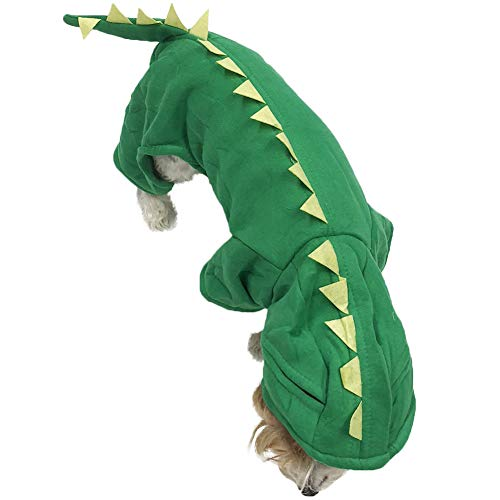 Midlee Dragon Dog Costume (8