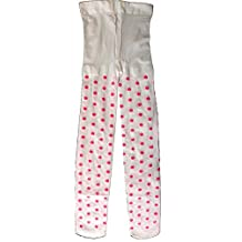 Wenchoice Girl'S White & Pink Dots Tight