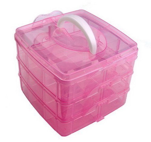 celleletion-pink-nail-art-makeup-cosmetic-hairclips-storage-gift-box-container-box-case-empty-box