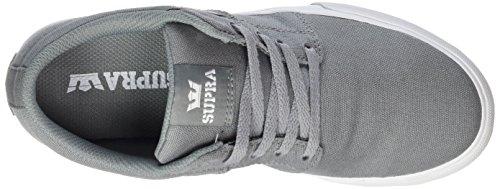 Supra Stacks Vulc II, Zapatillas Unisex Niños Grau (Grey - White)