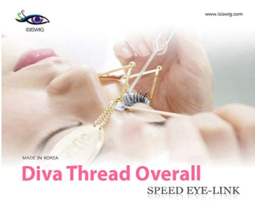 ISISWIG Speed Eye Link/eyelashes /fake lashes/False lashes/Natural /Long/Silk /Under Lash/Volume /Flat by ISISWIG