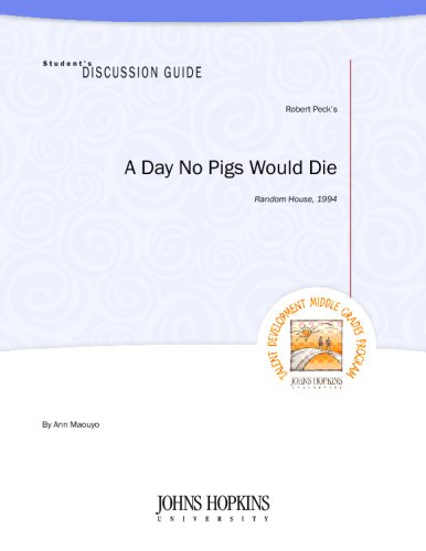 analysis of a day no pigs would die A day no pigs would die complete literature and grammar unit  ccssela-literacyrl61 cite textual evidence to support analysis of what the text says explicitly .