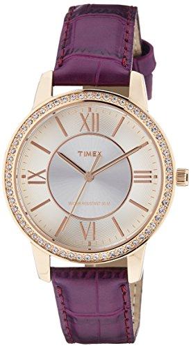 Timex Fashion Analog Silver Dial Women #39;s Watch   TW000Y802