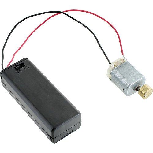 Vibration DC Motor + AA Battery Holder w/Switch