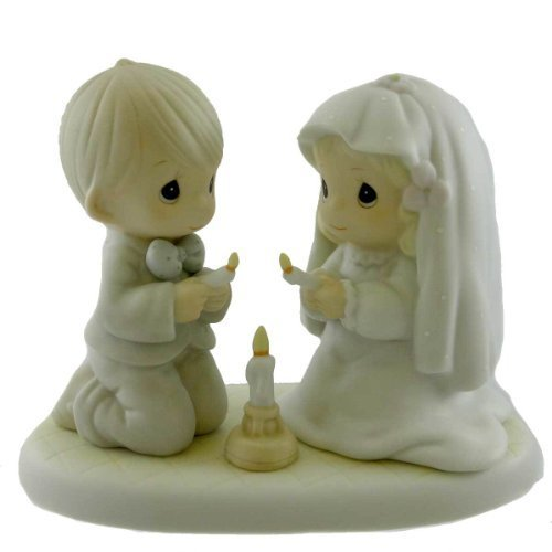 (Precious Moments THE LORD IS YOUR LIGHT TO HAP 520837 Wedding New)