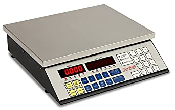 """Detecto 2240-50 Counting Scale, Electronic, 50 lb. Capacity, 14.5"""" x 8.25"""""""