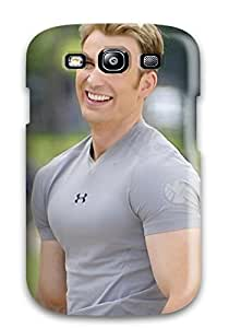 Durable Protector Case Cover With Chris Evans Hd Pictures Hot Design For Galaxy S3