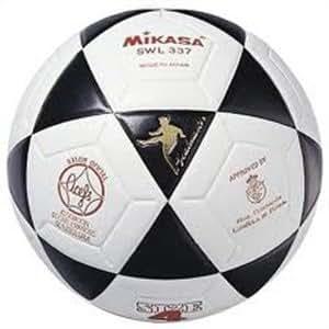 Mikasa Swl-337 - Balón de fútbol sala, color blanco / negro