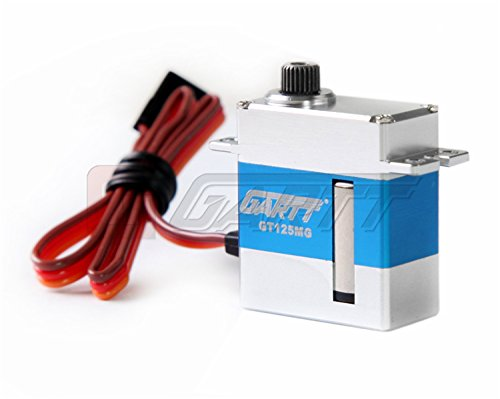 (Gartt ®GARTT GT125MG Digital Coreless Swashplate Tail Servo for 450 RC Helicopter)