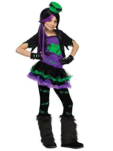 Funkie Frankie Child Costume - (Frankies Girls Costumes)