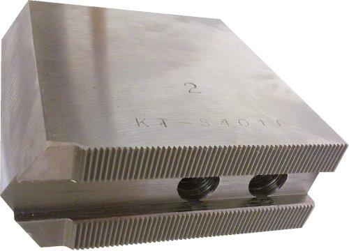 [해외]USST KT-8401P Steel Soft Chuck Jaws for 10 CNC Lathe Chucks 4 Tall (Set of 3 Pieces) / USST KT-8401P Steel Soft Chuck Jaws for 10 CNC Lathe Chucks, 4 Tall (Set of 3 Pieces)