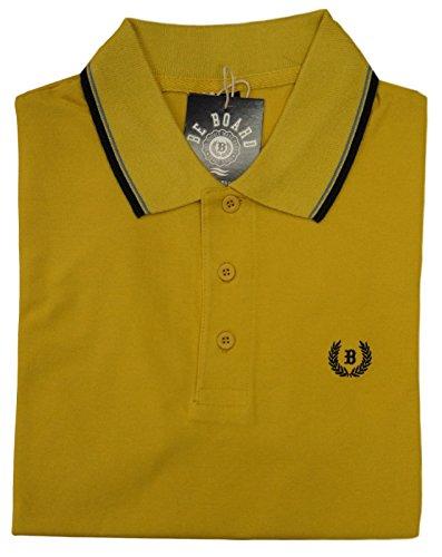 Be Board Sportliches Herren Poloshirt kurzarm Übergröße 100% Baumwolle Größe 5XL