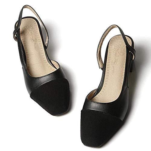 Femme Qiusa Fermées Chaussures Mode Printemps Été qwq5aYSx
