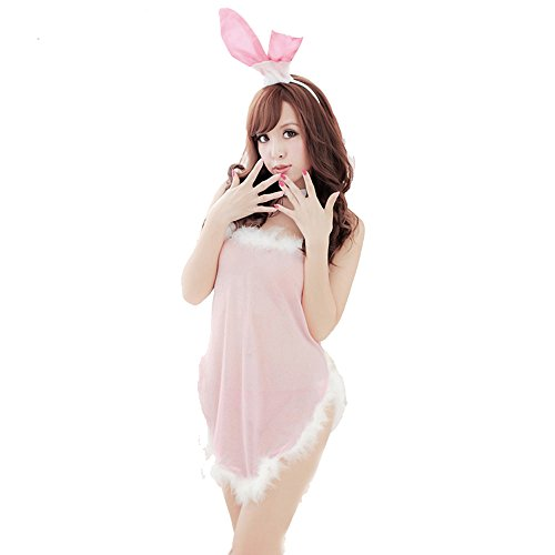 Europe Sexy Lingerie Bunny Cosplay Uniform Halloween Cosplay Nightwear (Sexy Bunny Lingerie)
