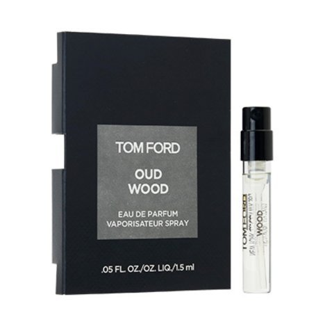 Tom Ford Oud Wood .05 oz / 1.5 ml Eau de Parfum Mini Travel (0.05 Ounce Parfum)