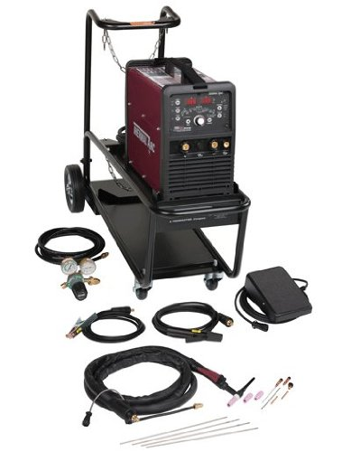 Thermal Arc W1006304 186 AC/DC Portable HF TIG System with Foot Pedal and Cart