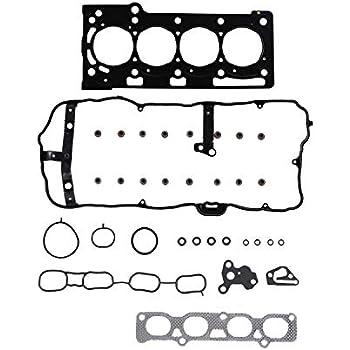 Fusion Transit Connect // 1.6L // L4 // DOHC // 16V // 1596cc 98cid // Fiesta DNJ HGS4314 Head Gasket Set for 2013-2015 // Ford//Escape VIN R, VIN X 1601cc // 97cid
