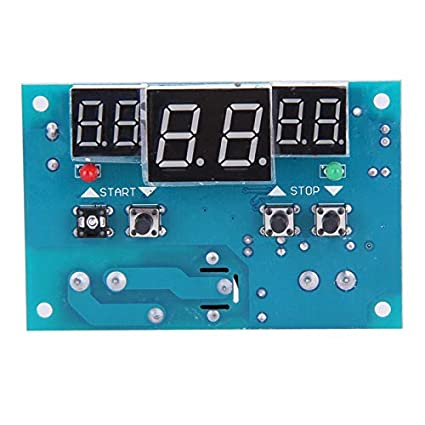 MOMA DC 12V Intelligent Digital Thermostat Temperature Controller Regulator with NTC Sensor Termostato Temperature Sensor FEN