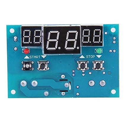 MOMA DC 12V Intelligent Digital Thermostat Temperature Controller Regulator with NTC Sensor Termostato Temperature Sensor FEN