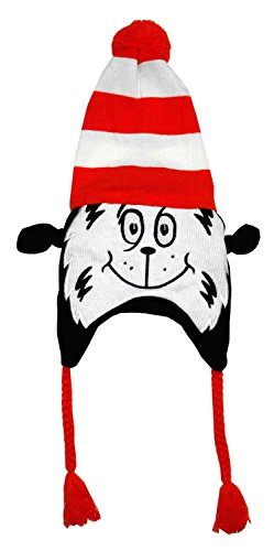 Dr Seuss Cat In The Hat Peruvian Hat, One Size