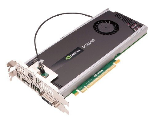 NVIDIA Quadro 4000 for Mac by PNY 2GB GDDR5 PCI Express Gen 2 x16 DVI-I DL, DisplayPort and Stereo OpenGL, DirectX (Boot Camp), CUDA and OpenCL Profesional Graphics Board, VCQ4000MAC-PB by PNY