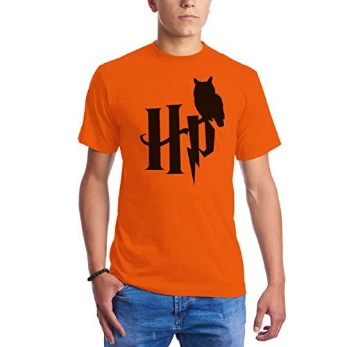 Logo Owl Harry Homme Cool Orange Style Shirts Potter Pour T w4ZWqp
