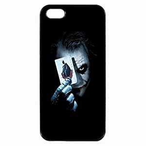 Joker Image Protective Iphone 5s / Iphone 5 Case Cover Hard Plastic Case for Iphone 5 5s